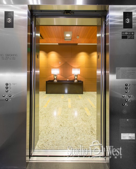 Building Interior Photography - Elevator Photography - Architectural Photography - Studio 101 West Photography