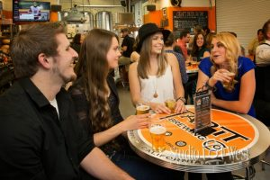 People having fun at Tap It Brewing San Luis Obispo, CA