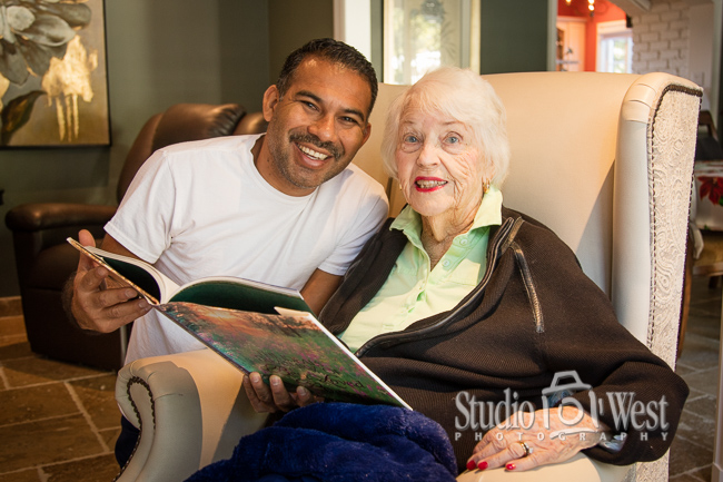 Elder Care Lifestyle Photography - Chateau Rose Elder Care - Studio 101 West Photography