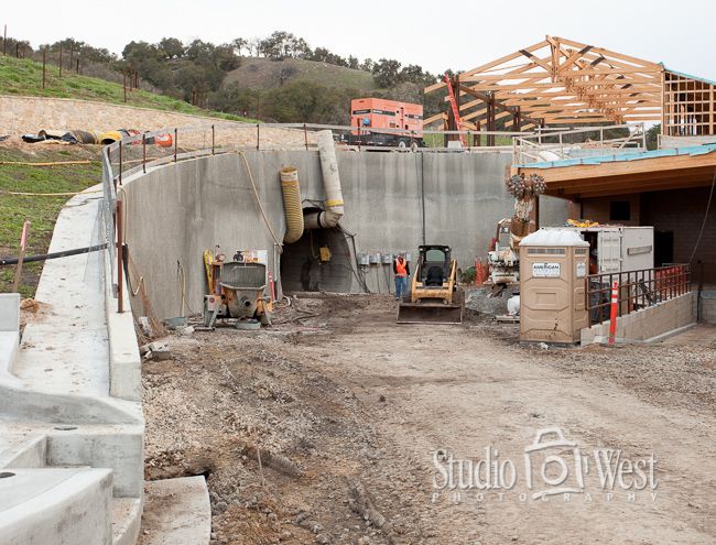 Construction Phases Photographer - Paso Robles Winery Photography - Studio 101 West Photography
