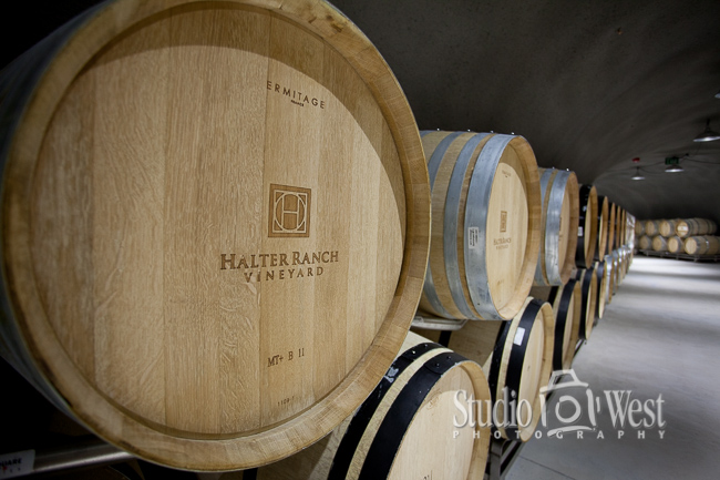 Halter Ranch Vineyard Photographer - Construction Photography - Paso Robles Winery Photography - Studio 101 West Photography