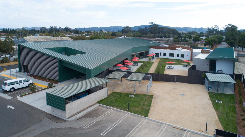 Garcia Achitecture + Design - San Luis Obispo Homeless Shelter - Drone Photography - Studio 101 West Photography