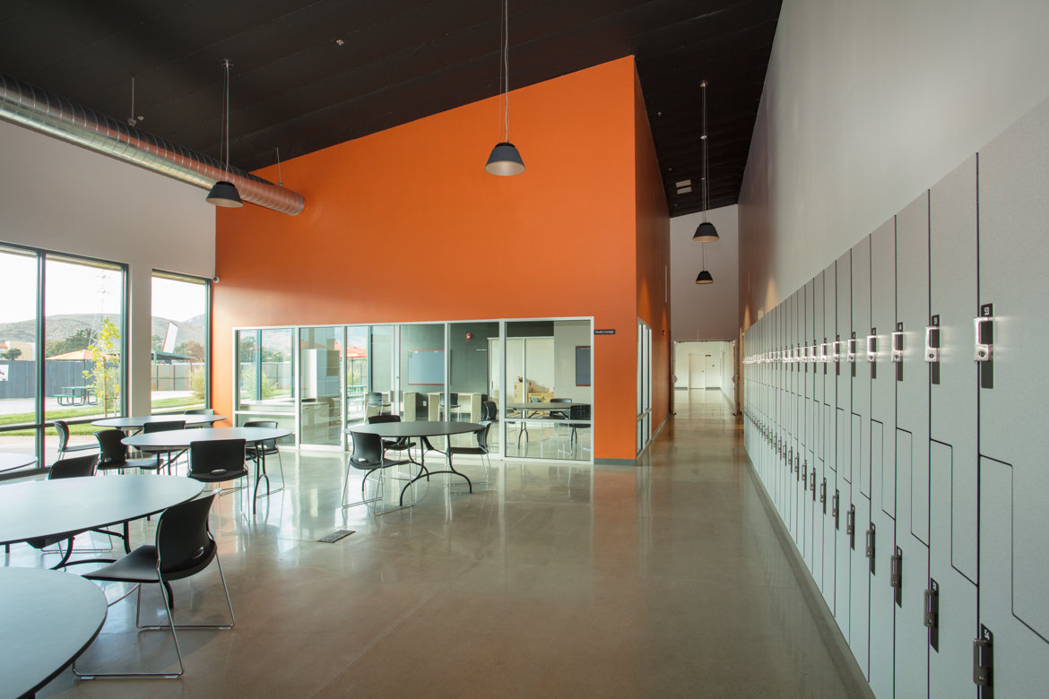 Building Photography - San Luis Obispo Homeless Shelter Meeting Room - Studio 101 West Photography