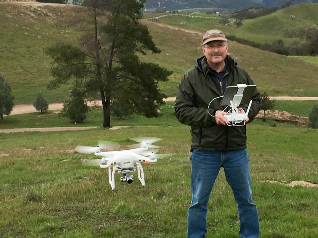 Dennis Swanson - Commercial Drone Pilot - San Luis Obispo County - Studio 101 West Photography