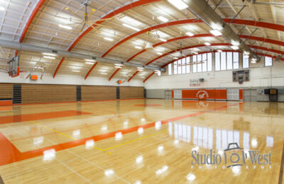 Big Ass Fans - Atascadero High School - Architectural Interior Photography - Product Photography - Studio 101 West Photography