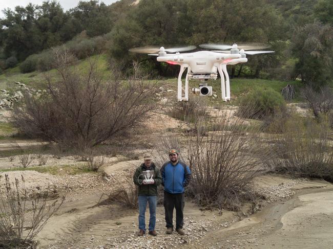 Drone over Creston Creek - Studio 101 West Drone Photography