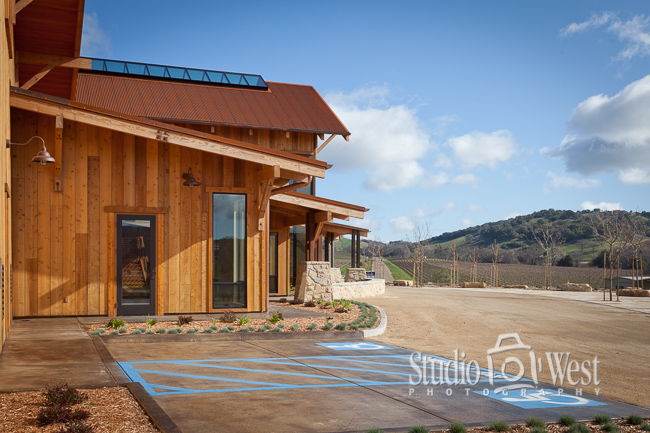Architectural Photography - Paso Robles Winery Photography - Studio 101 West Photography