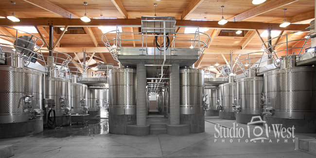 Winery Interior Photographer - Paso Robles Winery Photography - Studio 101 West Photography