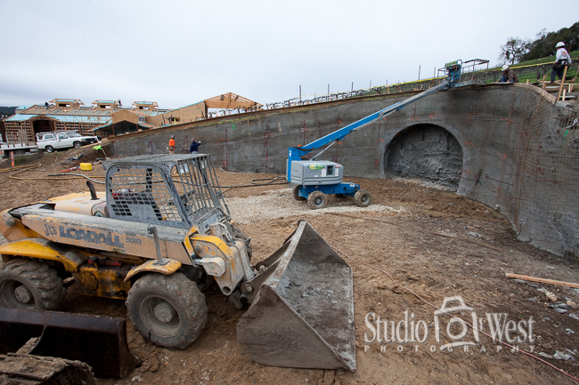 Construction Photography - Paso Robles Winery Photography - Studio 101 West Photography