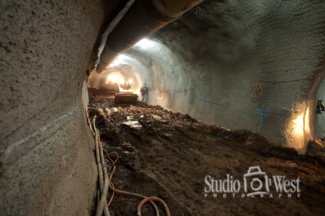 Wine Cave Tunnel Boring Construction Photographer - Paso Robles Winery Photography - Studio 101 West Photography