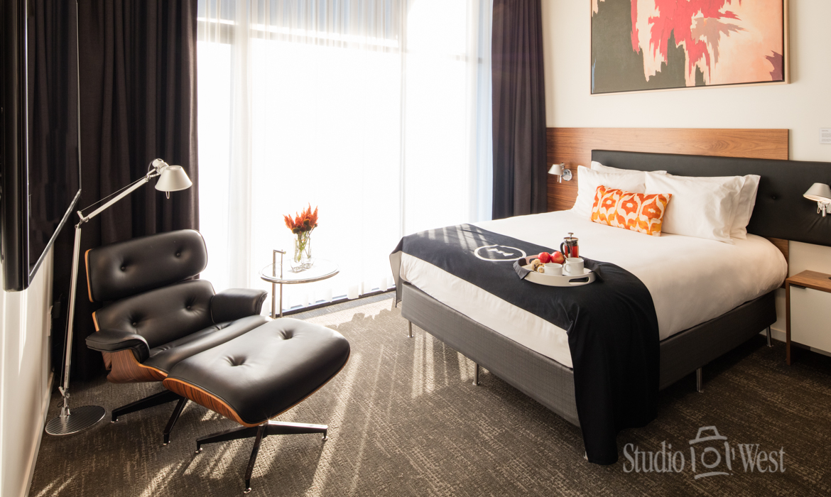 Architectural Hotel Interior Photographer - The Butler Hotel - Studio 101 West Photography