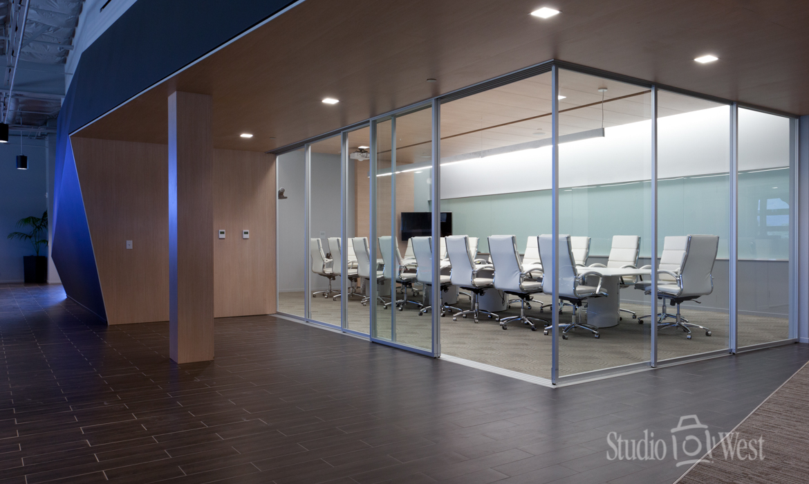 Architectural Photography - Conference Room - Rosetta Software - Studio 101 West Photography