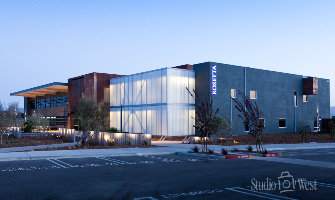 Architectural Exterior Building Photography - Rosetta Software - Studio 101 West Photography