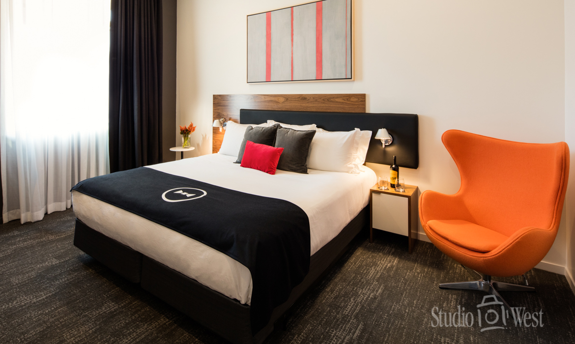 Architectural Hotel Room Shot Photographer - The Butler Hotel - Studio 101 West Photography