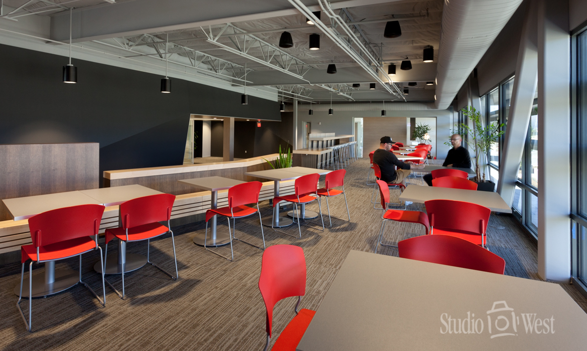 Architectural Photography - Rosetta Software Break Room - Studio 101 West Photography