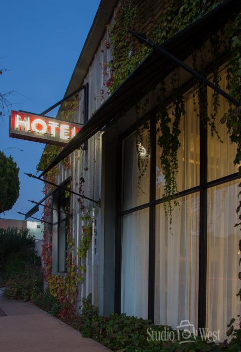 Architectural Unique Hotel Vintage Signage Photographer - The Butler Hotel - Studio 101 West Photography