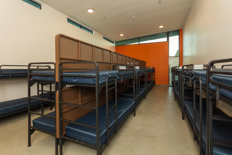 San Luis Obispo Homeless Shelter Sleeping Dorm - Building Photography - Studio 101 West Photography