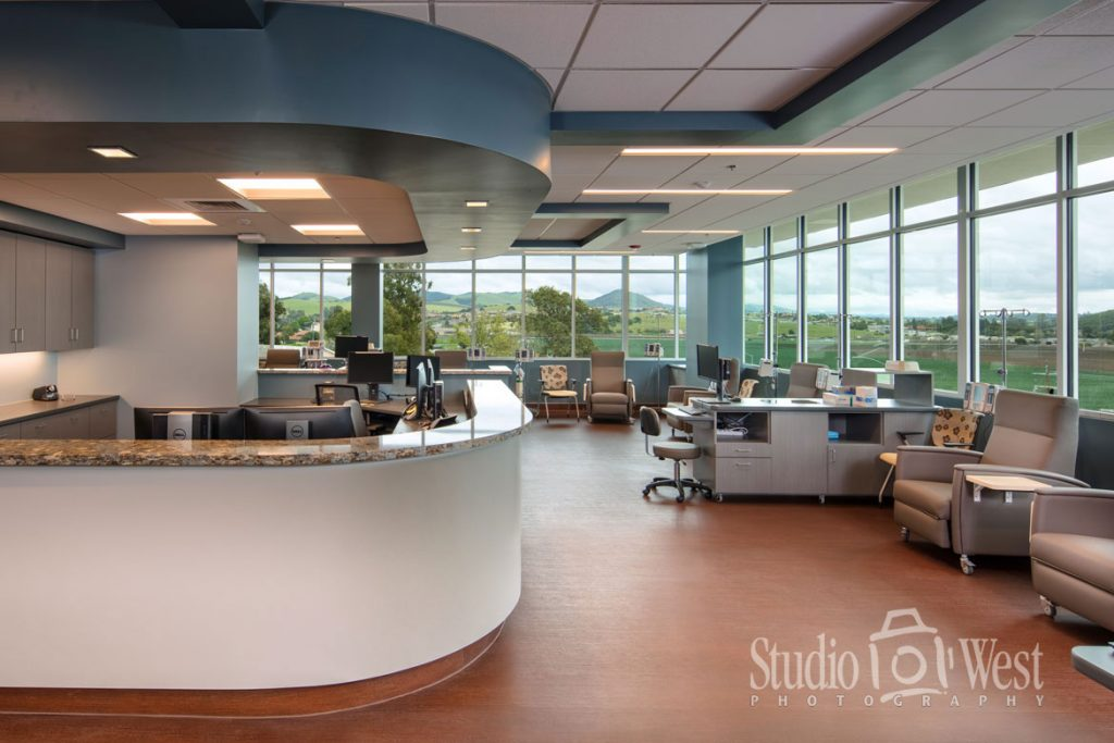 Interior Architecture Photography - Dignity Health Infusion Center - Studio 101 West Photography