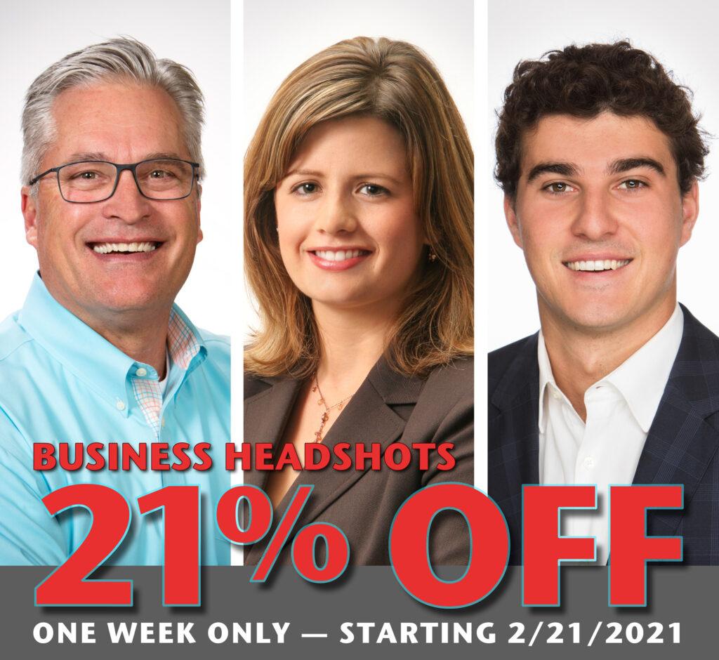 Business Headshots - Corporate Headshots - head shot - profile pics - profile portraits - Headshot special - Studio 101 West Photography