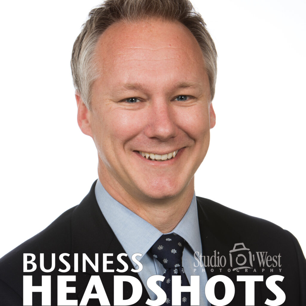 Businessman Portrait - Business Headshot - Professional Photographer - Studio 101 West Photography