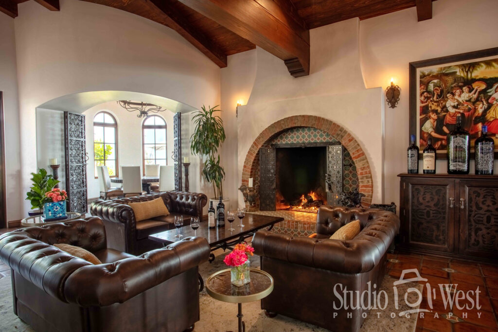 DAOU Winery - Daou Family Estate - Interior Photography - Architectural Photography - Studio 101 West Photography