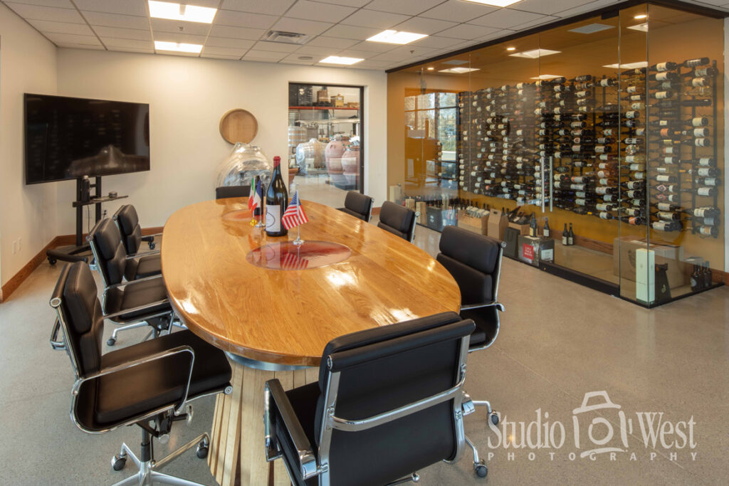 Itek Conference Room Photography - Interior room photographer - Architectural Photography Paso Robles - Winery Photography - Studio 101 West Photography