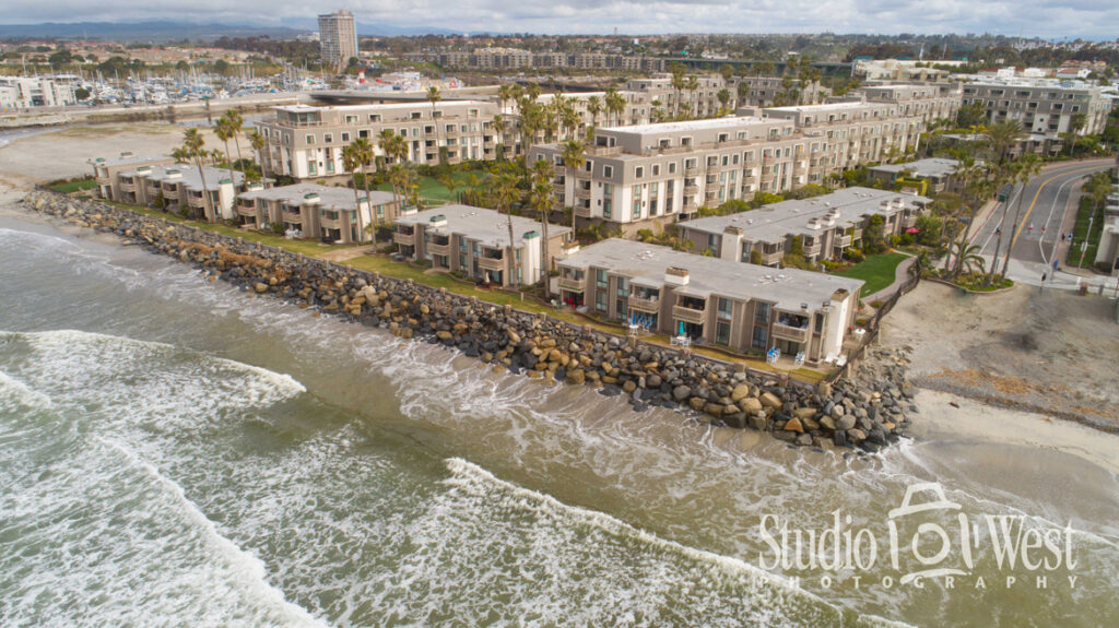 Oceanside Real Estate Photographer - Condo Photography - Drone Aerial Photography - VRBO rental photography for website - Studio 101 West Photography