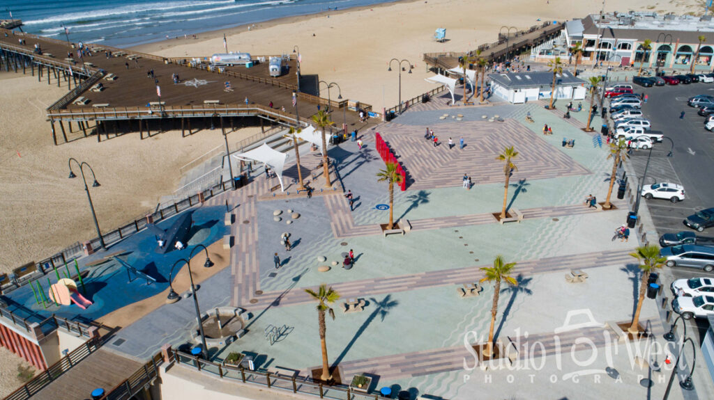 Aerial Drone Photography - StepStone Stone work photography - Pismo Beach Waterfront Photographer - Studio 101 West Photography