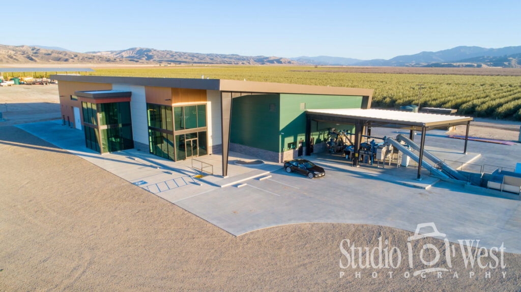 Olive Ranch Aerial Drone Building Photography - Architectural Photography - Studio 101 West Photography