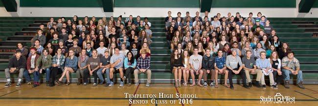 Templeton High School Senior Portraits - Senior Portrait Photographer - Studio 101 West Photography