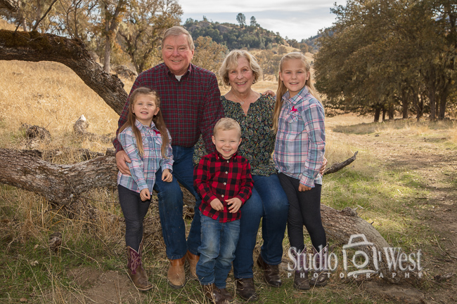 Paso Robles Ranch Family Portraits - Studio 101 West Photography