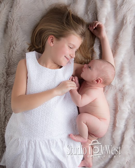 Four-week Baby Portrait - Studio 101 West Photography - Studio 101 West Photography