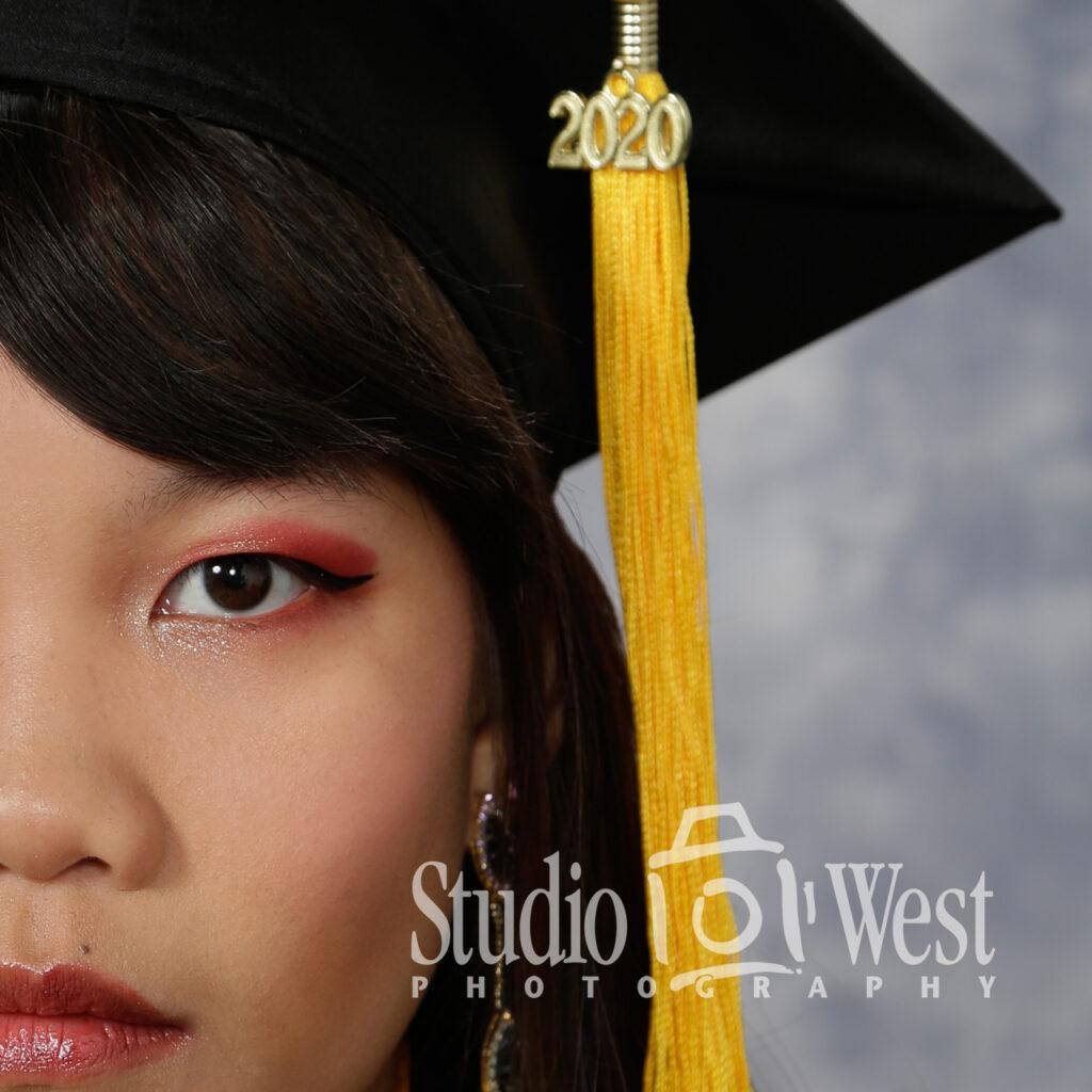 Graduation Portrait - Class of 2020 - COVID19 - Pandemic - Senior Portrait Photographer - Studio 101 West Photography