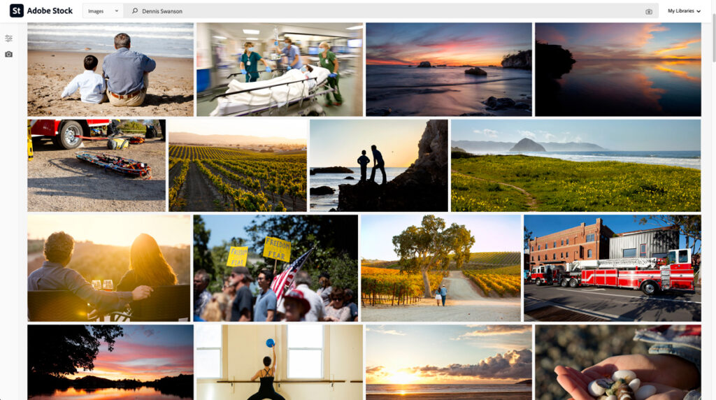 Stock Photography for Sell - Lifestyle Photography for Brochures - Symbolic photography for Web Sites - Adobe Stock - iStock - Getting Images - Landscape Photography - Central Coast Landscape Photography - Studio 101 West Photography