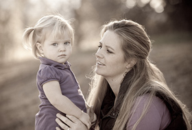 Paso Robles Mother and Child Family Portrait - Family Pictures - Studio 101 West Photography