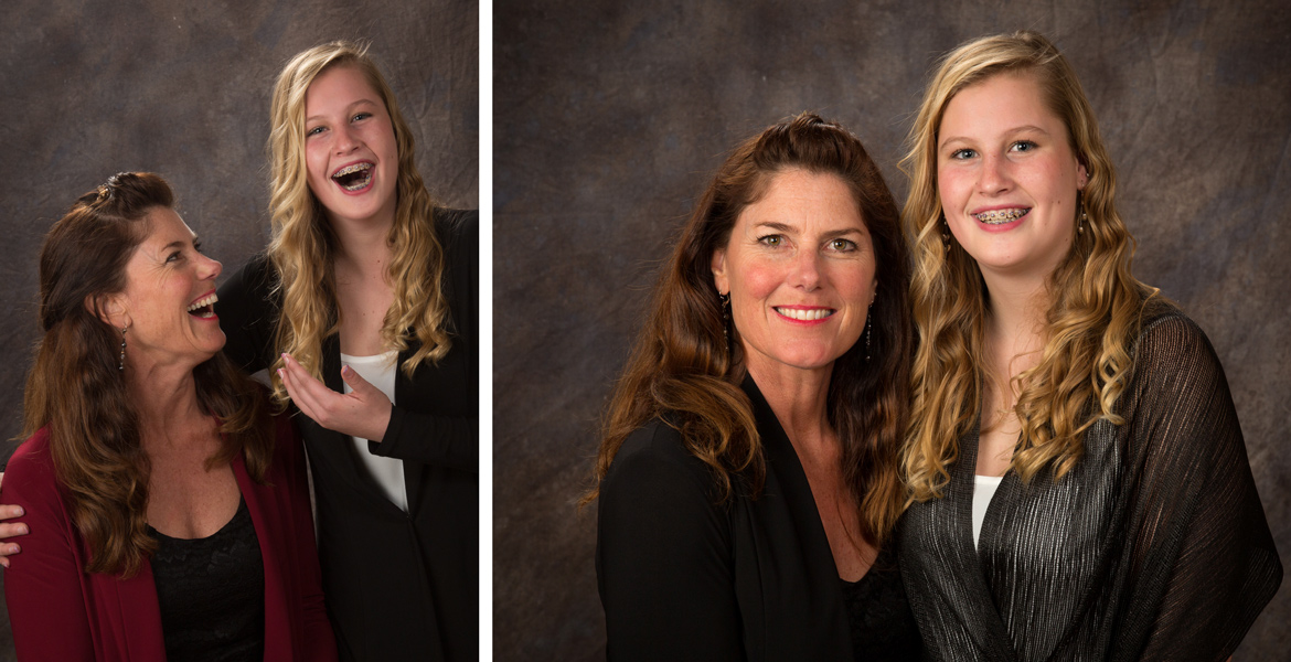 Atascadero Family Portrait Photography - Mother daughter portrait - Studio 101 West Photography