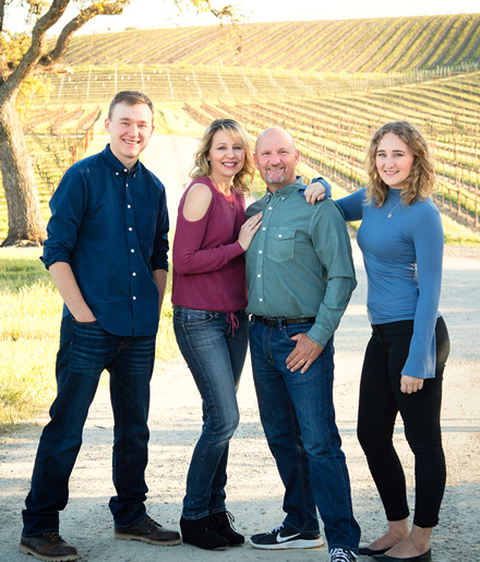 Central Coast Family Photography - Winery Family Portraits - Professional Family Portraits - Studio 101 West Photography