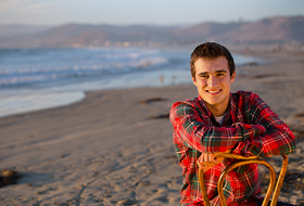 Morro Bay Senior Portrait Photography - Beach Senior Pictures - Studio 101 West Photography