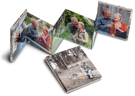 Senior Portrait Products - Mini Accordion Booklet - Studio 101 West Photography Products